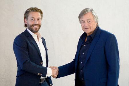 Patrick Waldis mit Albert Denz